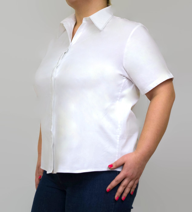 Biala-koszula-damska-xl-xxl-PLUS-SIZE-FIBI-46-54-krotki-rekaw-do-biura-pracy-egzamin-elegancka