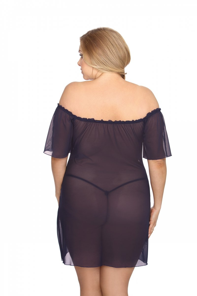 Koszulka-erotyczna-damska-plus-size-dla-puszystych-xl-xxl-VENEA-XL-6XL-czarna-seksowna-prezent-dla-kobiety-na-swieta-bozego-narodzenia-tyl