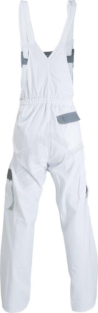 Spodnie ogrodniczki Work - kolor biały