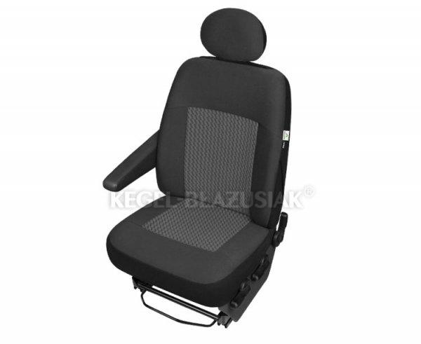 Pokrowiec PERUN DV1 na przedni, lewy fotel do samochodów dostawczych