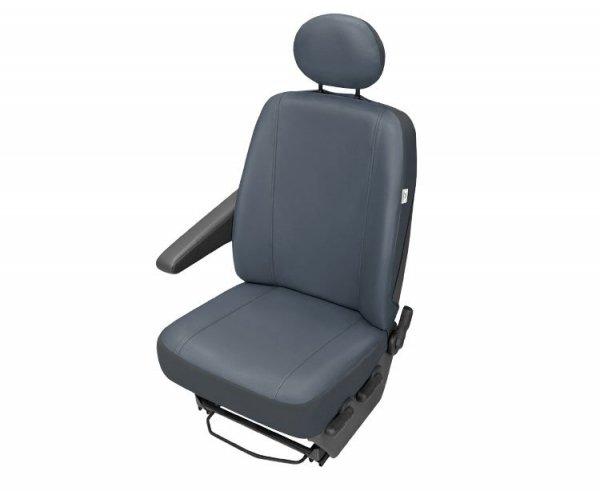 Pokrowiec Na Przedni Fotel Samochodowy PRACTICAL Popielaty