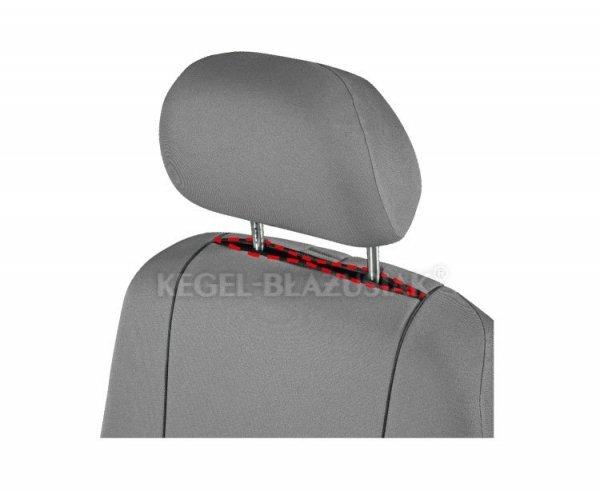 Pokrowiec HERMAN Gray na przednie fotele rozm. XL