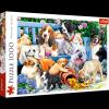 TREFL Puzzle 1000 el. Psy w ogrodzie (10556)