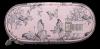 Piórnik szkolny ST.RIGHT w motyle vintage, VINTAGE BUTTERFLIES PC1 (22809)