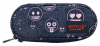 Piórnik szkolny ST.RIGHT Emoji Pink EMOTIKONY PC1 (07358)
