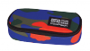Piórnik CoolPack CAMPUS niebiesko-pomarańczowe moro CAMOUFLAGE TANGERINE (88848CP)