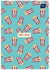 Zeszyt A5 32 kartki gładki MIX chłopięcy (72433)