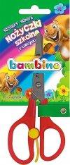 Nożyczki szkolne z odbojnikiem BAMBINO (02953)