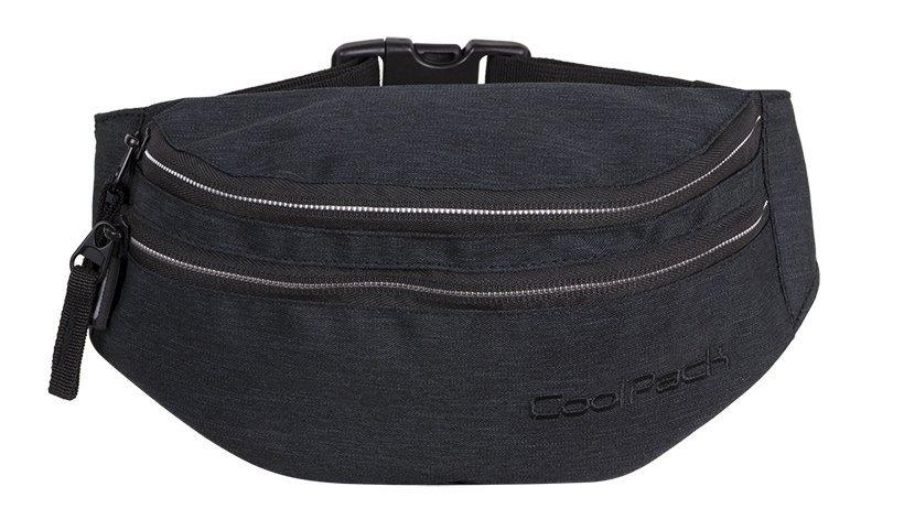 SASZETKA NERKA CoolPack na pas torba MADISON czarna, SNOW