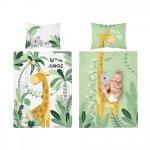 Pościel niemowlęca bambusowa 90x120 JUNGLE (3273A)