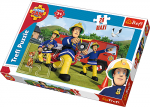 TREFL Puzzle MAXI 24 el. STRAŻAK SAM Ugasić pożar (14245)
