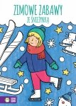 Kolorowanka Zimowe zabawy ze śnieżynką ZIELONA SOWA (39871)