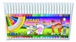Pisaki zmywalne FUN 24 kolory KAMET (00963)