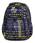 PLECAK CoolPack STRIKE niebiesko - żółte wzory, TIE DYE BLUE 739 (73073)