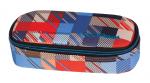 Piórnik szkolny COOLPACK CAMPUS w kolorowe kwadraty, MOTION CHECK 895 (69021)
