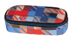 Piórnik CoolPack CAMPUS w kolorowe kwadraty, MOTION CHECK 895 (69021)