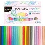Plastelina pastelowa 24 kolory KIDEA (PP24KA)