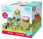 Kostki do układania BABY CUBES W lesie TREFL (60664)