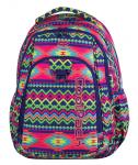 Plecak szkolny młodzieżowy COOLPACK STRIKE w kolorowe zygzaki, BOHO ELECTRA 781 (74247)