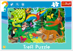 TREFL Puzzle Ramkowe 15 el. LAS TROPIKALNY (31219)