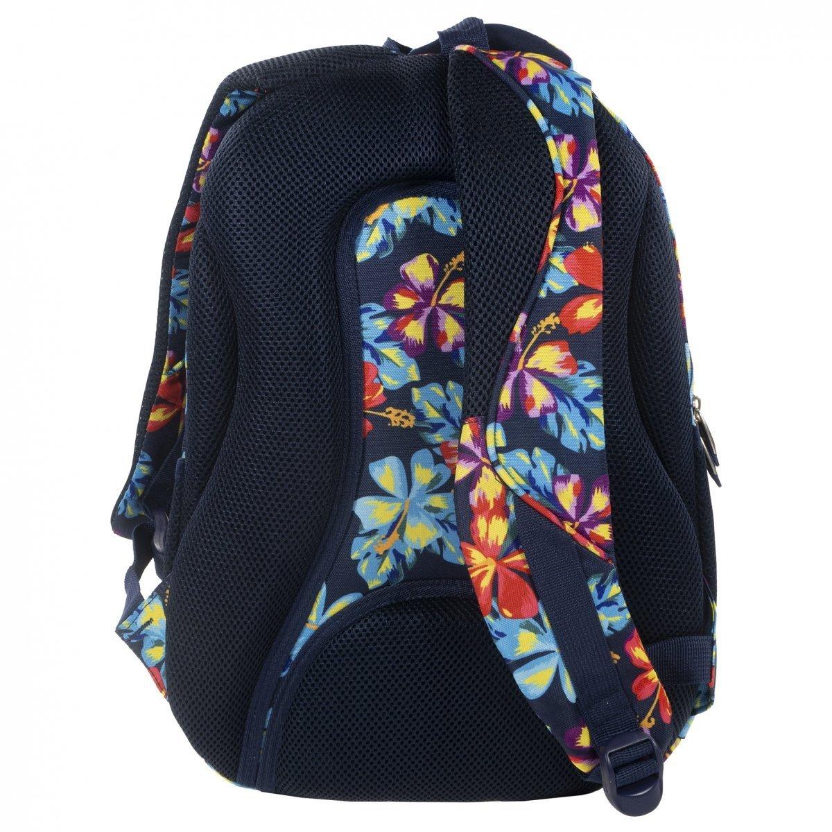 51c508106aa18 Plecak szkolny młodzieżowy Back UP jesienne kwiaty