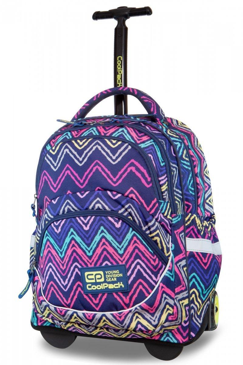 9e9a6b23386fb Plecak CoolPack STARR na kółkach kolorowe wzory