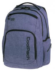 Plecak szkolny młodzieżowy COOLPACK BREAK 2 niebieski, SNOW BLUE 855 (76265)