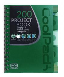 Kołobrulion kołozeszyt A5 200 stron ZIELONY CoolPack (94061CP)