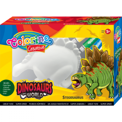 Zestaw do malowania Stegozaur COLORINO (91350)