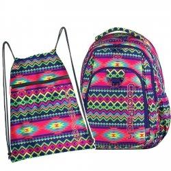 Plecak CoolPack STRIKE BOHO ELECTRA 2 cz. (74247SET)