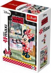 TREFL Puzzle miniMaxi 20 el. Myszka Minnie Magiczna Restauracja (21021)