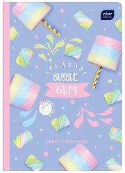Zeszyt zapachowy A5 60 kartek w linię BUBBLE GUM guma balonowa (67269)