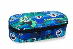Piórnik CoolPack CAMPUS w kolorowe potworki, WIGGLY EYES BLUE (B62034)