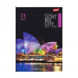 Zeszyt A5 w kratkę 96 kartek Sydney (07165)