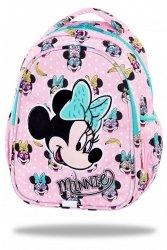 ZESTAW 3 el. Plecak wczesnoszkolny CoolPack JOY S Myszka Minnie, MINNIE MOUSE PINK (B48302SET3CZ)