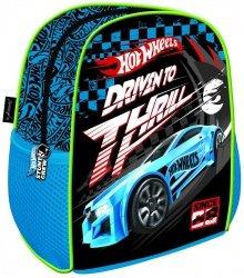 Plecak przedszkolny wycieczkowy HOT WHEELS, Samochody Wyścigowe (11310)