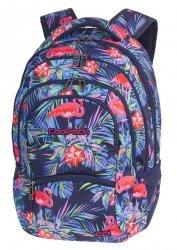 Plecak szkolny młodzieżowy COOLPACK COLLEGE różowe flamingi, PINK FLAMINGO (81174CP)