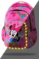 ZESTAW 3 el. Plecak CoolPack SPARK LED Myszka Minnie, MINNIE MOUSE TROPICAL (B45301SET3CZ)