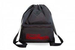 Plecak Sportowy Worek na sznurkach CoolPack URBAN czarny z czerwonymi dodatkami, SUPER RED (A46116)