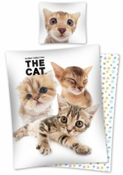 Komplet pościeli pościel THE CAT 160 x 200 cm (CAT03DC)