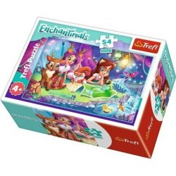 TREFL Puzzle mini 54 el. ENCHANTIMALS na kempingu (19617)