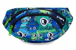 SASZETKA NERKA CoolPack na pas torba ALBANY w kolorowe potworki, WIGGLY EYES BLUE (B75034)
