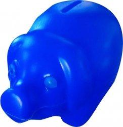 Skarbonka świnka plastikowa GRANATOWA (00172)