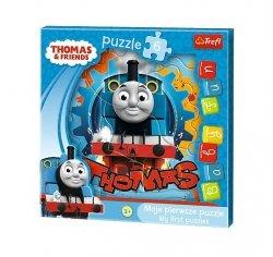 TREFL Puzzle 6 el. BABY FUN Lokomotywa Tomek (36123)
