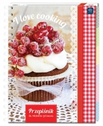 Przepiśnik kulinarny I LOVE COOKING (INS35572)