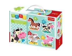 TREFL Puzzle BABY CLASSIC Na wsi (36052)