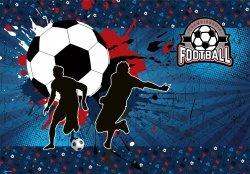 Podkład oklejany na biurko FOOTBALL Piłka nożna (POPI01)