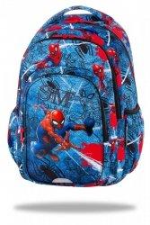 Plecak CoolPack SPARK Spiderman na niebieskim tle, SPIDERMAN DENIM  (B46304)