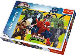 TREFL Puzzle 260 el. Spider-Man w akcji (13218)