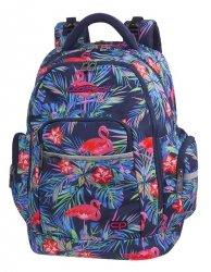 Plecak szkolny młodzieżowy COOLPACK BRICK różowe flamingi, PINK FLAMINGO (81198CP)